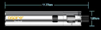 Aspire PockeX Silver