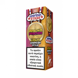 American Stars Peach's Peaches 10ml