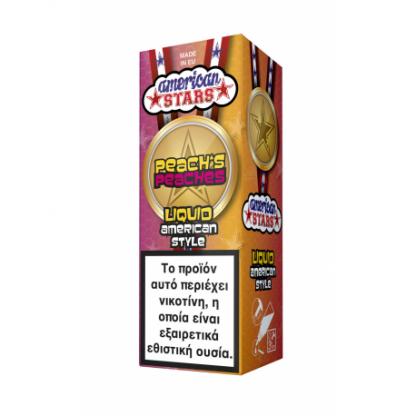 American Stars Peach's Peaches 10ml