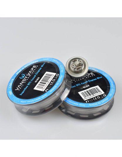Vandy Vape Superfine Wire ni80 clapton