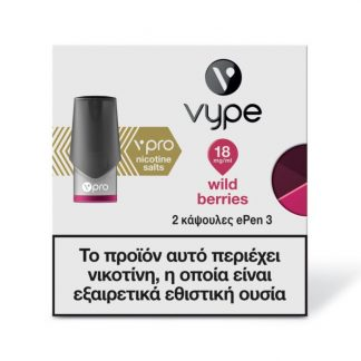 Vype ePen 3 vPro Caps - Wild Berries 18mg/ml