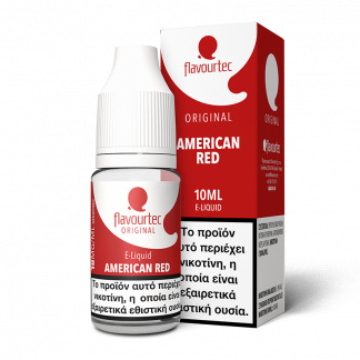 Flavourtec – American red 10ml (Αμερικάνικος καπνός) 3mg