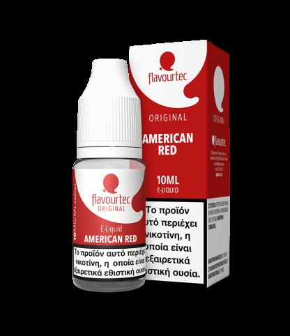 Flavourtec – American red 10ml (Αμερικάνικος καπνός) 3mg