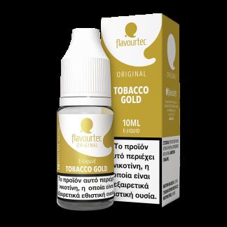 Flavourtec – Tobacco Gold 10ml (Εκλεκτές ποικιλίες καπνού) 3mg